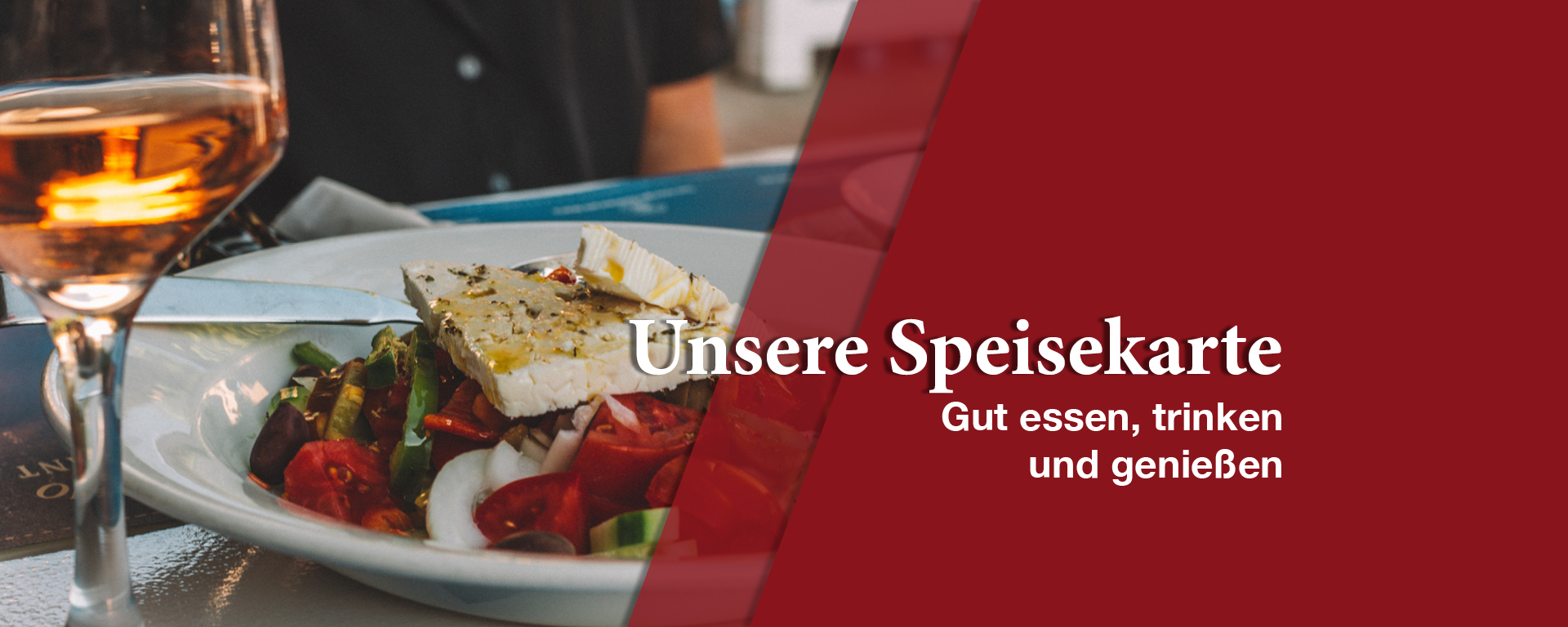 Speisekarte, Essen in Kornwestheim, Grichische Küche, Gaststätte