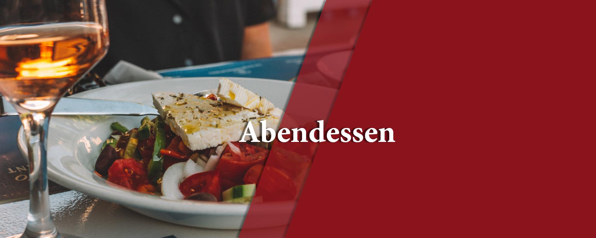 Abendessen in Kornwestheim, Grischische Küche, Essen